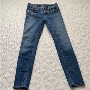 Hudson dark wash skinny jeans size 24